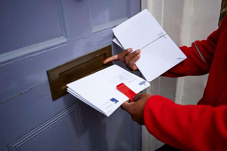 Royal Mail's letters revenue fell by 1.5%