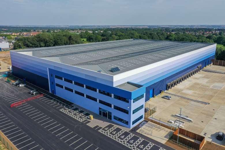 Whistl is currently moving into its new 14,400sqm purpose-built Northampton site