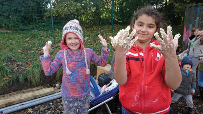 Outdoor learning is used to tackle isolation among disadvantaged young people