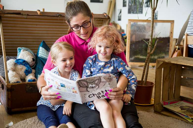 Tops Day Nurseries in Portsmouth fosters a love of books – old and new.