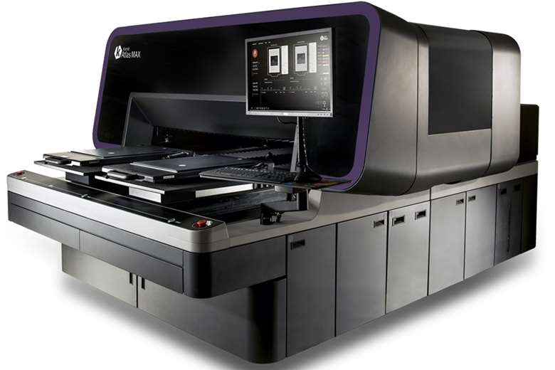 The Atlas Max features the new XDi technology, for 3D printing capabilities