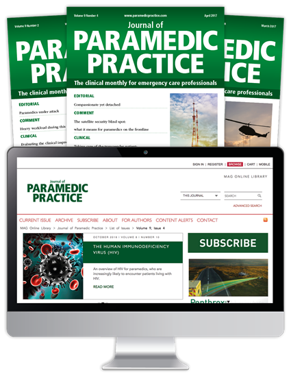 Journal Of Paramedic Practice | Journal Of Paramedic Practice