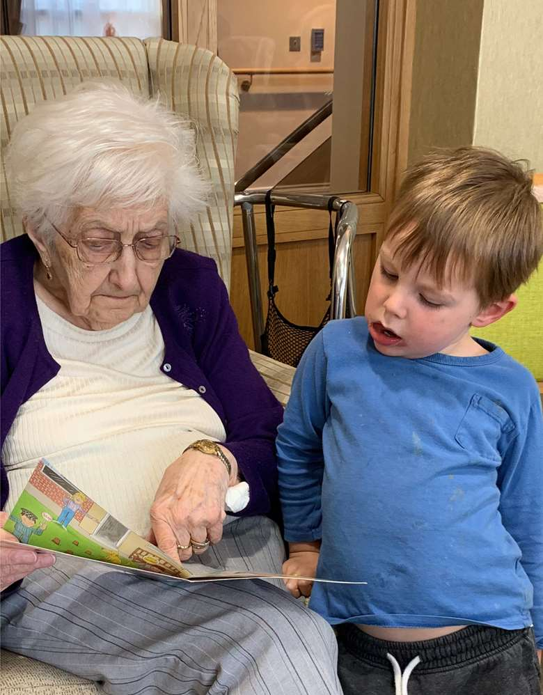 Positive relationships flourish at Apples and Honey Nightingale House
