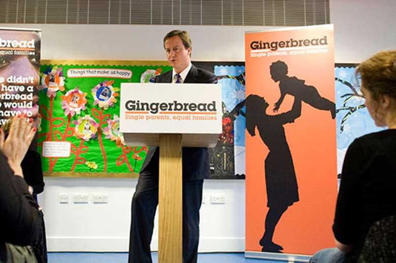 Gingerbread has urged Cameron to fund childcare. Image: Gingerbread