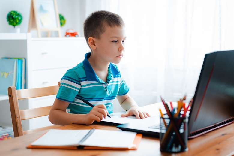 It can cost families as much as £97 per day in data charges to carry out home learning, new research shows. Picture: Adobe Stock
