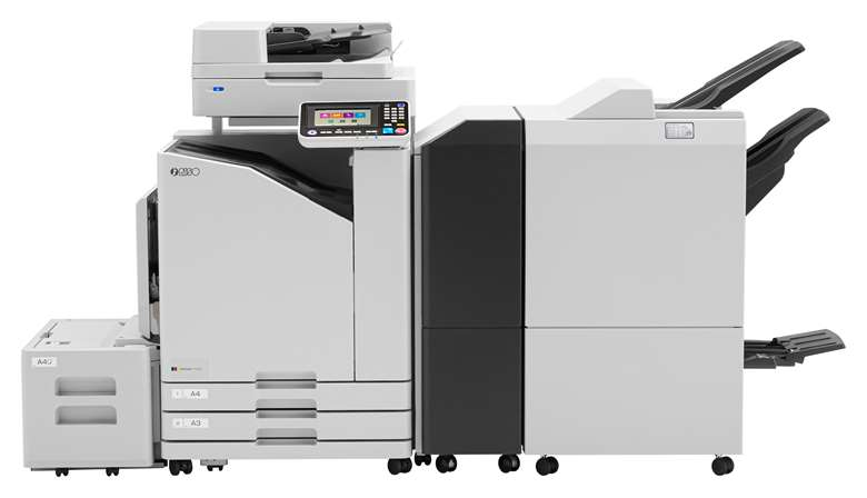 The A3+ ComColor FT5230 prints at up to 120ppm