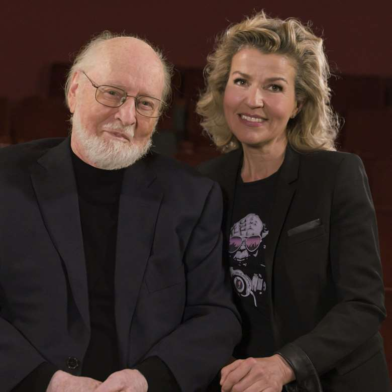 Anne-Sophie Mutter and John Williams collaborate on new album (photo: Prashant Gupta)
