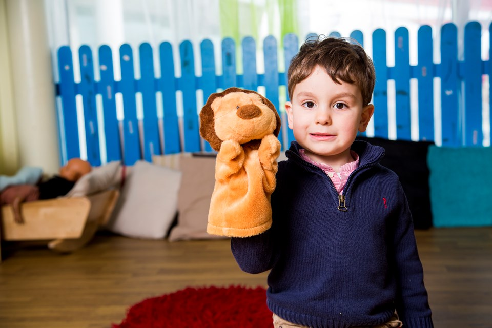 Using puppet play for important life skills