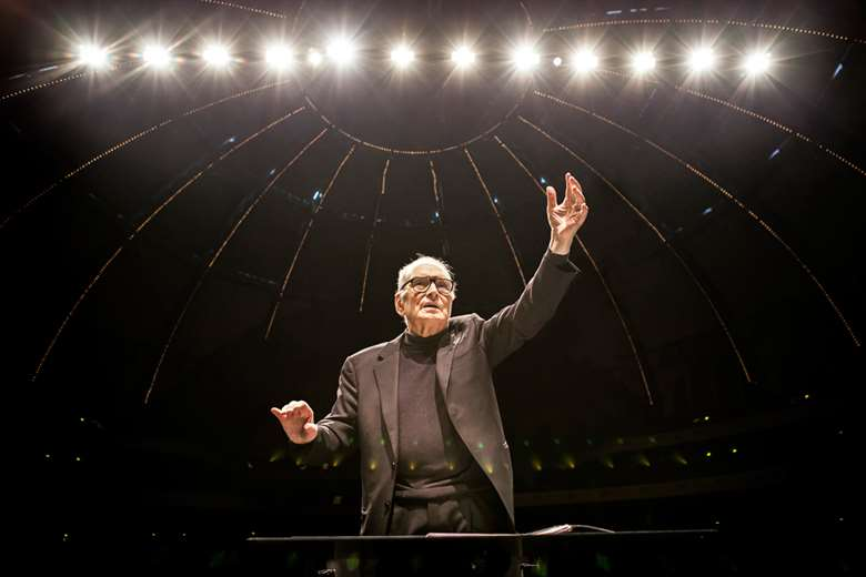 Ennio Morricone (photo from Muthmedia)
