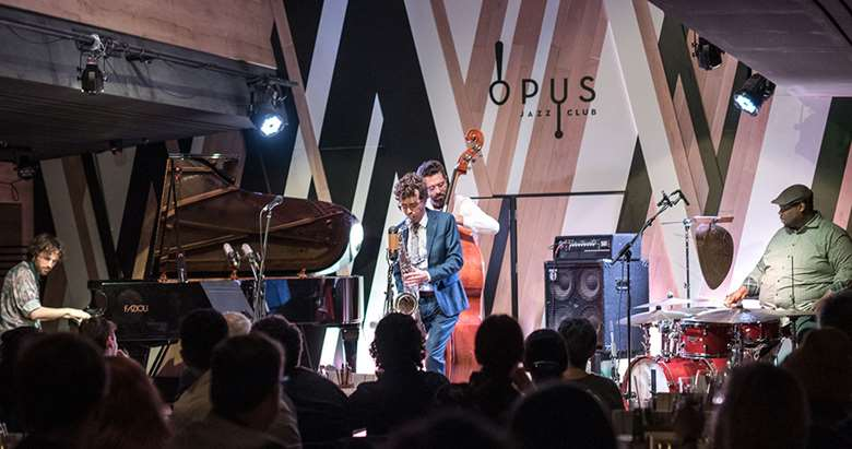Oded Tzur Quartet (photo by Lajos Somogyi/Bands Through The Lens/Budapest Music Center)