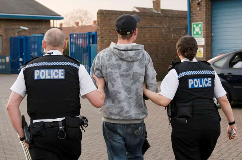 There were 70,000 arrests of boys and girls aged up to 17 in 2018