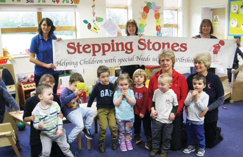 Stepping Stones offers children specialist support, plus access to other professionals