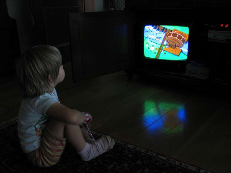Public Health England warns that children who watch lots of TV have poorer mental health. Image: Morguefile
