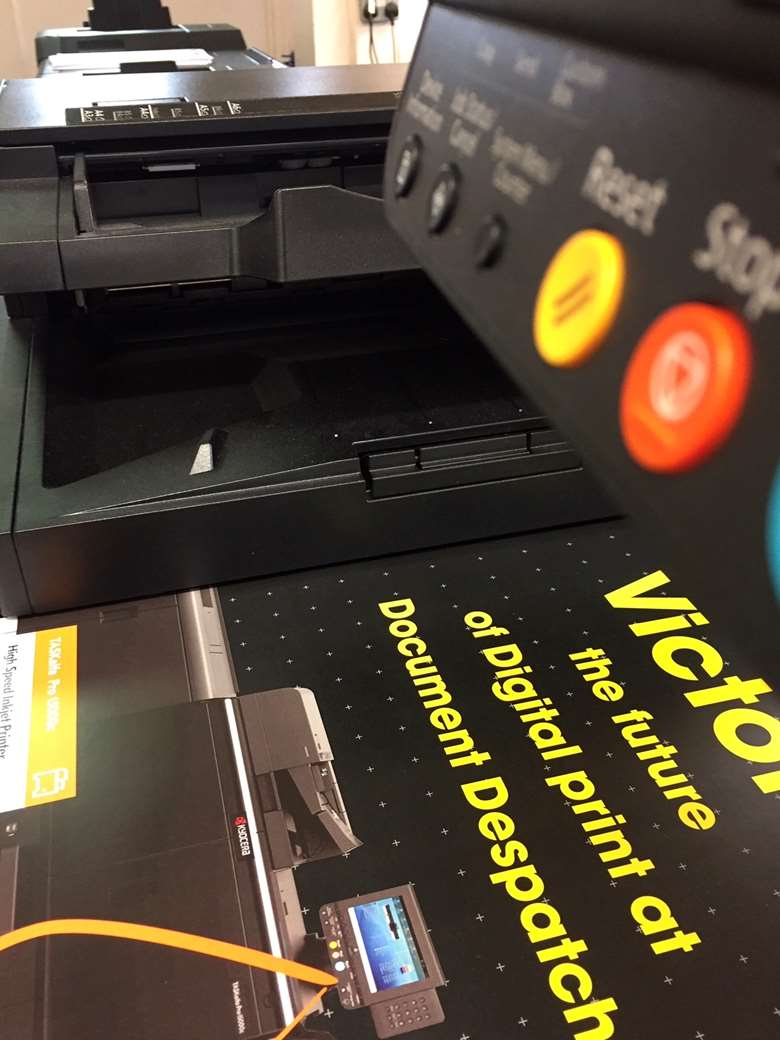 "New Kyocera inkjet: ""The quality is exceptional, it's equivalent to litho"""
