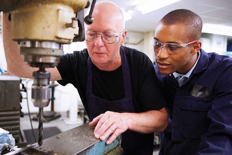 Disadvantaged males are less likely to complete apprenticeships than more advantaged peers, research shows. Picture: Adobe Stock