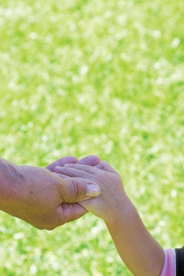 Explain to a child that dementia is an illness that can affect a grandparent's behaviour. Picture: iStock
