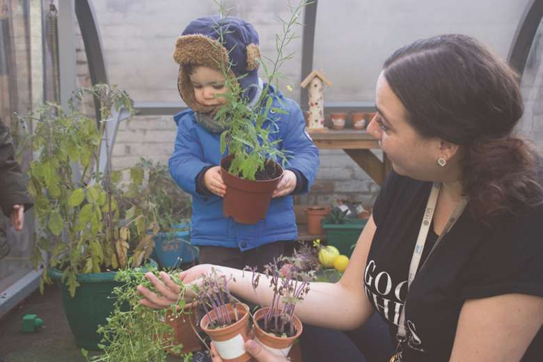 The London Early Years Foundation has developed a new qualification to teach nurseries about sustainability PHOTO LEYF