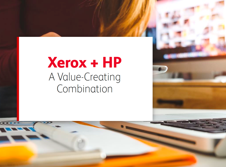 Xerox proposal focuses on cost synergies and revenue synergies