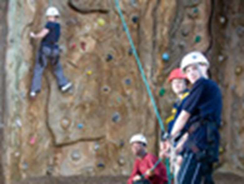 youth project: rock climbing