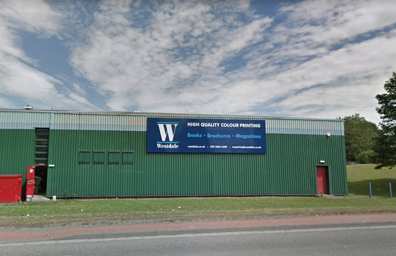Westdale's Cardiff factory. Image: Google Maps