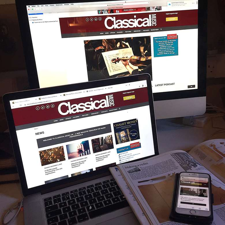Classical Music goes digital