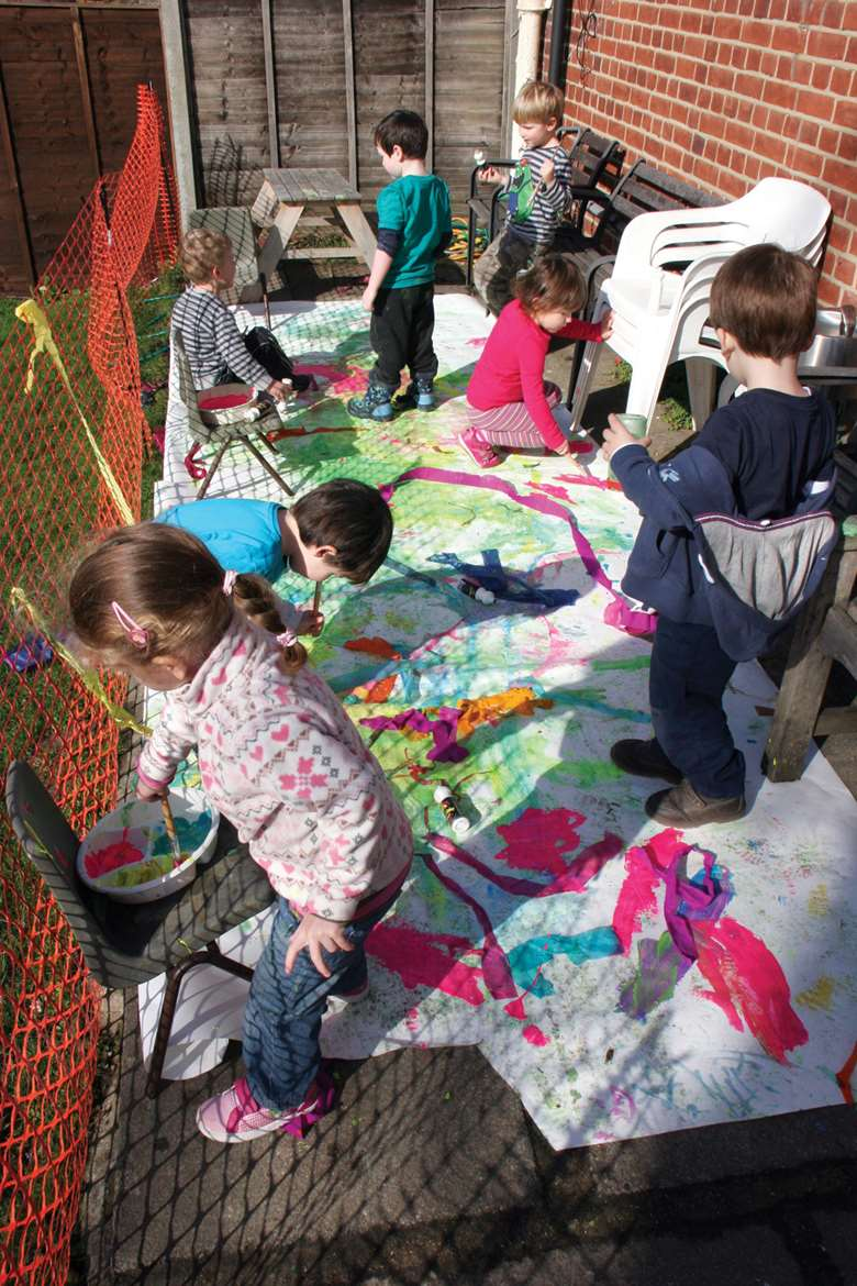 Increasing the free childcare entitlement could see more children attend early years settings. Picture: Lucy Carlier