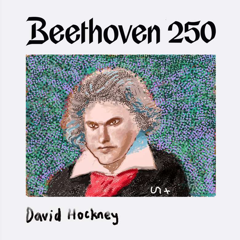 'Beethoven After His First Symphony' - David Hockney / Apple
