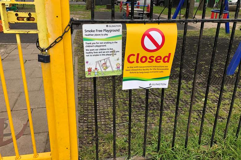 The closure of playgrounds and libraries has 'disproportionately' affected the poorest families