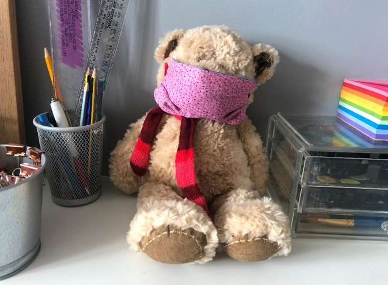 Social workers in Oxfordshire are using teddy bears to help relieve anxiety in children around Covid-19. Picture: Oxfordshire County Council