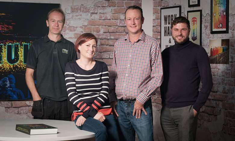 RMC board: Lee Cundill, Nicole Spencer, Richard Spencer and Alex Wood