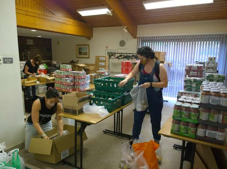 The government has pledged to fund food distribution charities. Picture: Sustain