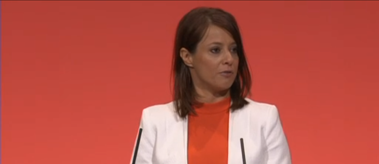 "De Piero says she wants to ""connect Labour with the next generation"". Picture: Labour Party"