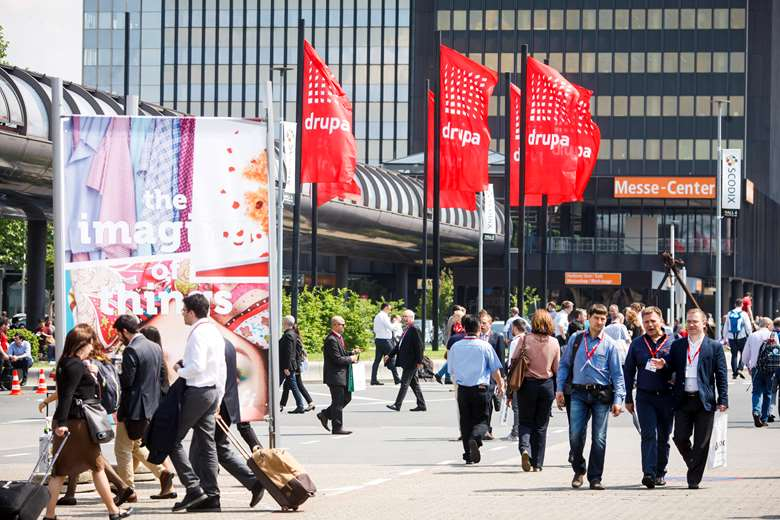 Messe Düsseldorf hosts a raft of major events, including Drupa