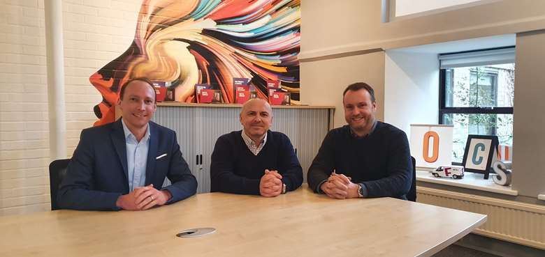 "Reynolds (centre): ""I am confident that my experience and knowledge will continue to push the business to new heights"""
