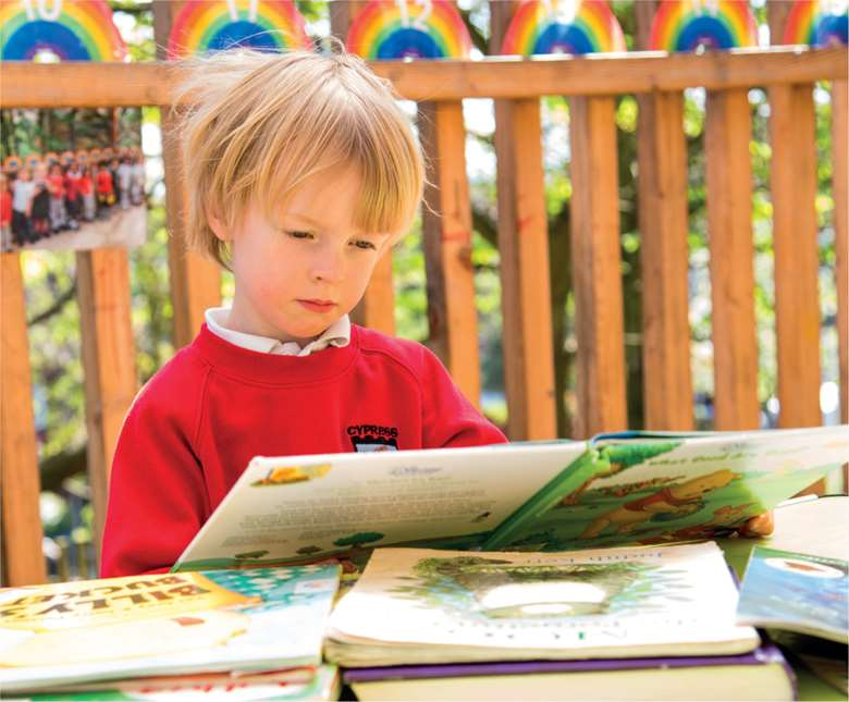 Picture books inspire children to experiment with words and rhymes
