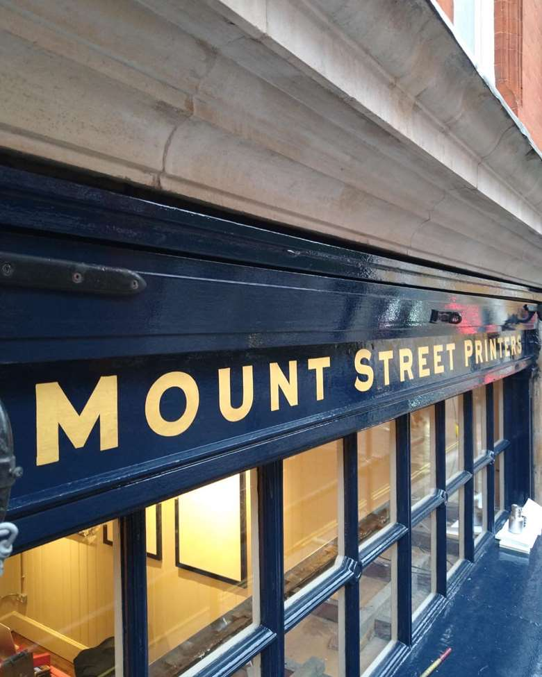 Mount Street Printers: making the most of its location