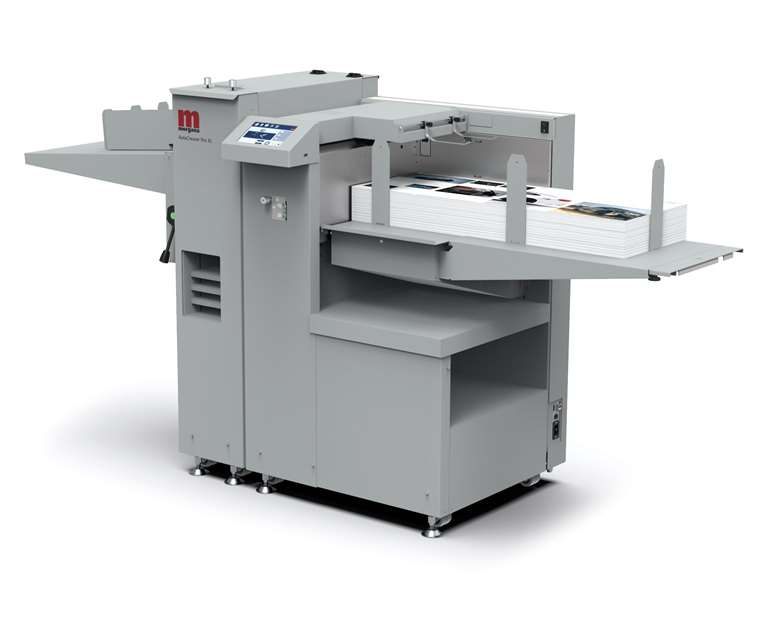 This latest AutoCreaser XL was intended to be one of the highlights of Morgana's Drupa stand