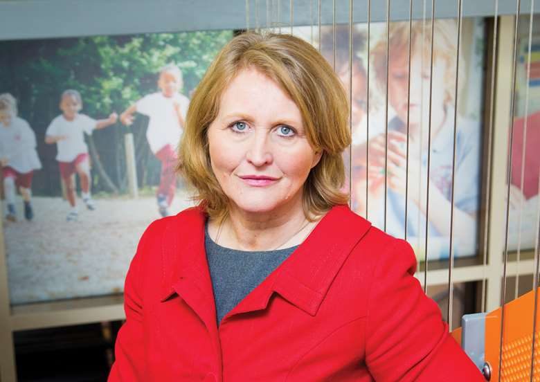 Children's commissioner Anne Longfield was behind the report. Picture: Alex Deverill