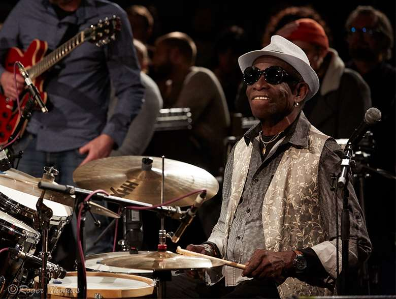 Tony Allen at Church Of Sound by Roger Thomas