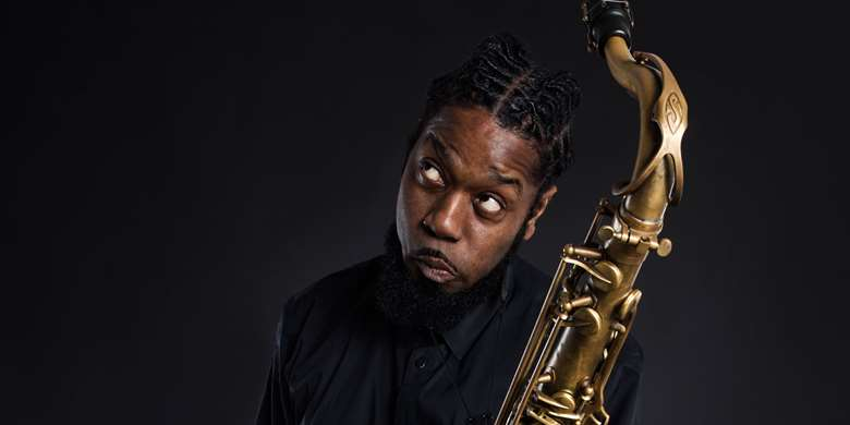 Soweto Kinch (all photos by Iza Korzak)