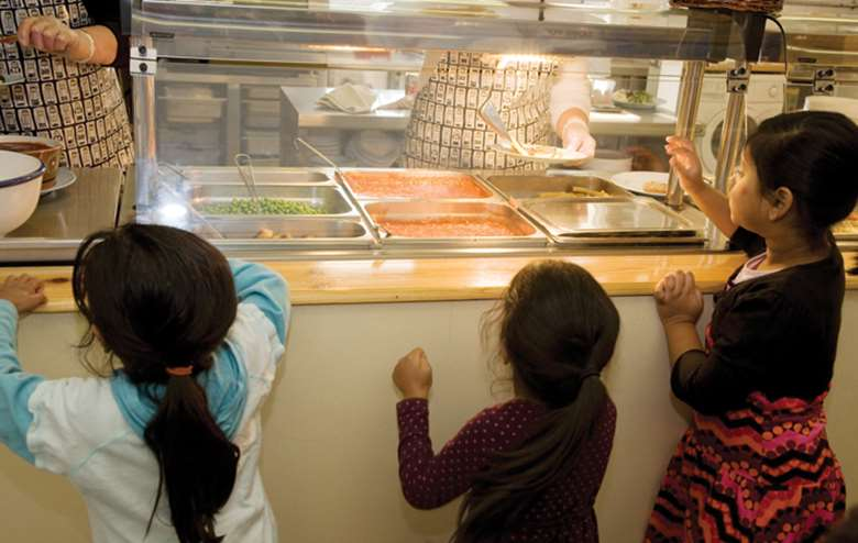 Charities welcome the introduction of free school meals for young primary school children