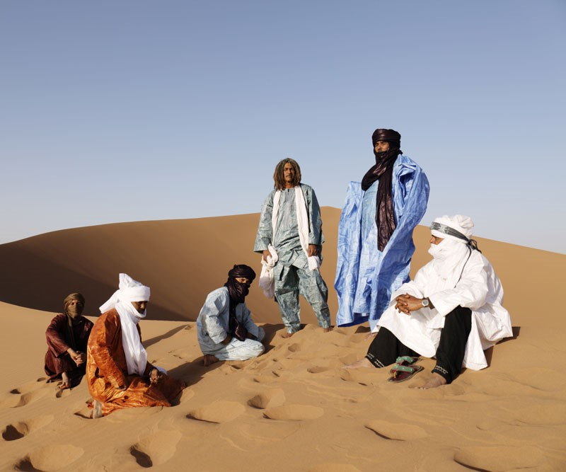 Tinariwen (photo: Marie Planeille)