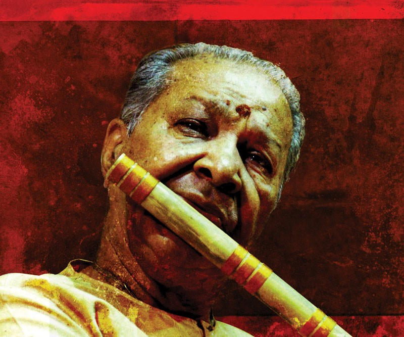 Hariprasad Chaurasia (photo: Kaashi Arts)
