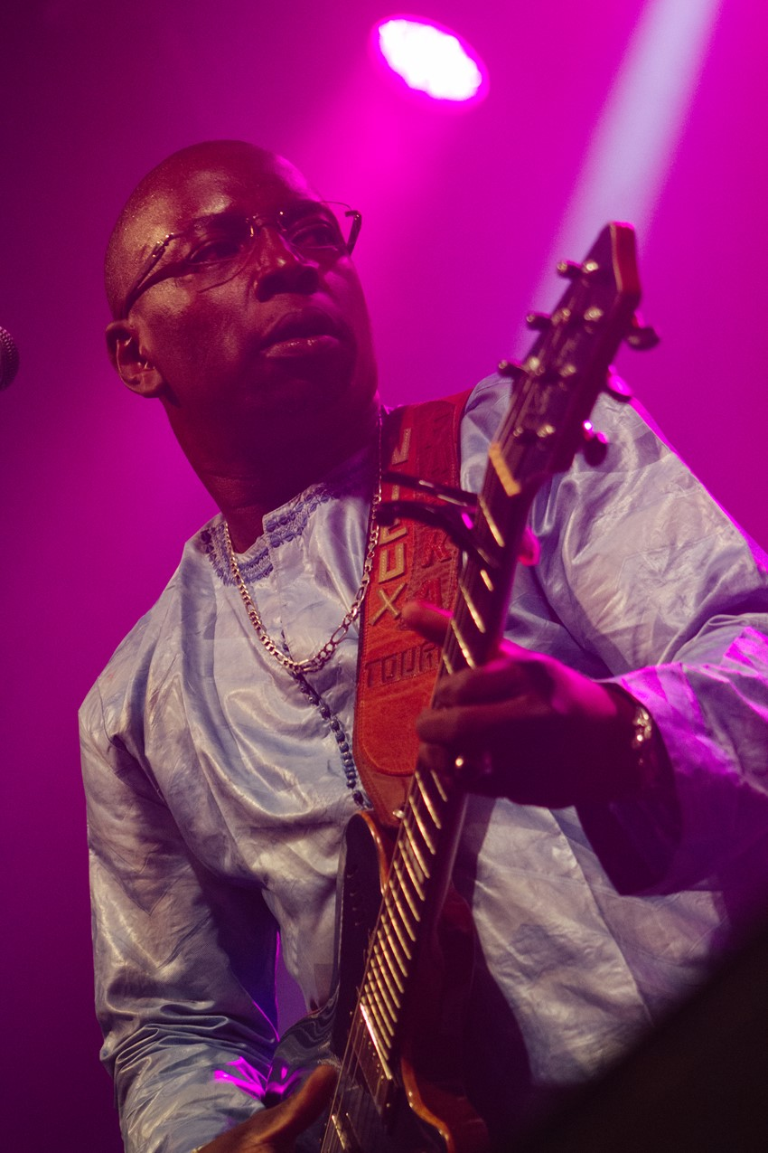 Vieux Farka Touré performed and was a nominee in the Best Artist category