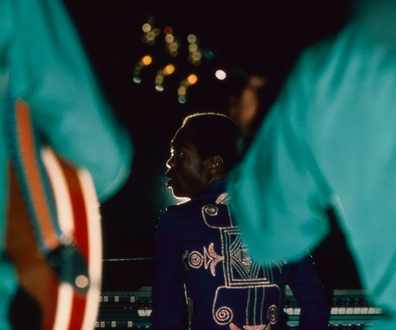 Fela Kuti (photo: Bernard Matussière)