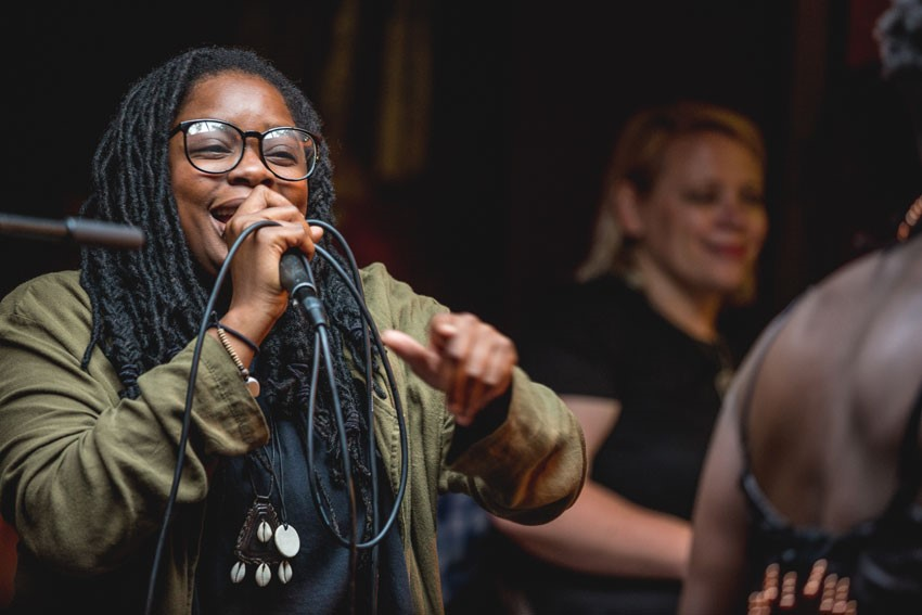Speech Debelle at Ronnie Scott's (photo: Graham Turner)