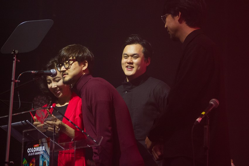 Black String receive the Asia & Pacific Award