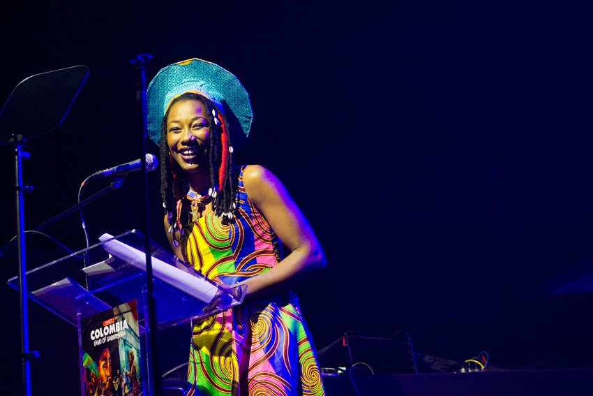 Fatoumata Diawara made a surprise appearance