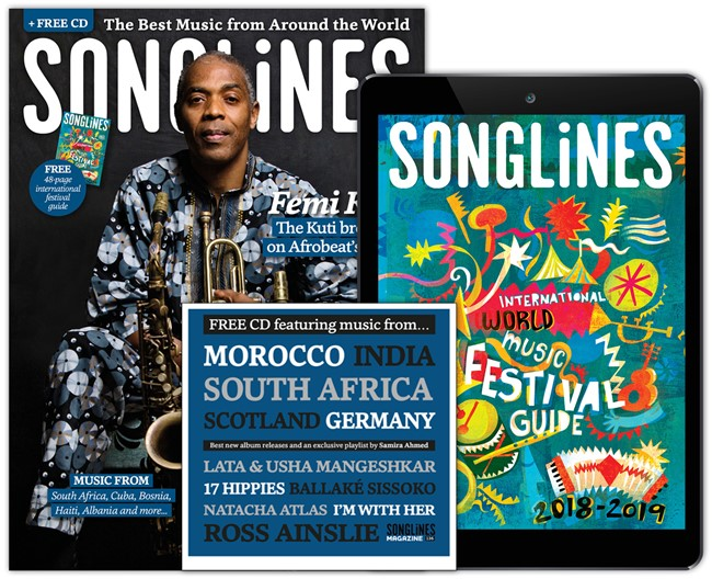 Songlines April 2018