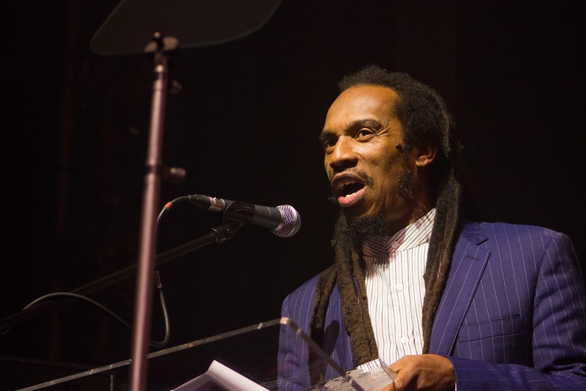 Actor and presenter Benjamin Zephaniah
